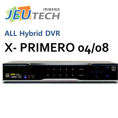 HYBRID : XPM04  X-PRIMERO  (아날로그, FULL HD, AHD, TVI, HD-SDI, EX-SDI, IP)  / MAGIC IP